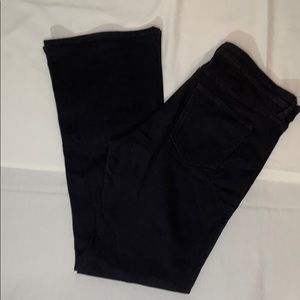 Gap mid rise trouser flare pants